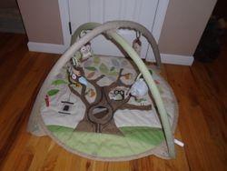 Skip Hop Treetop Friends Activity Gym Play Mat - $30