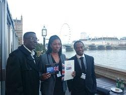 Sandra, pastor Michael and Bishop Ben