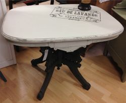 French Stencil Parlour Table