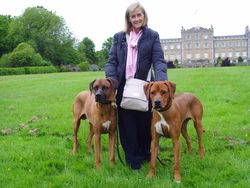 Remus (right) with Mum Sharon and Zeus