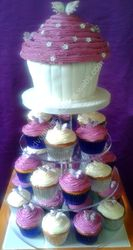 cupcakes wedding cake