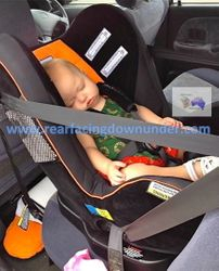 12 months old Infa-Secure Kompressor Rear-Facing