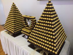 Massive Display of 1130 Ferrero Rocher's