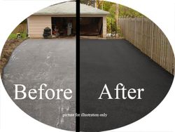 Before and After New paving