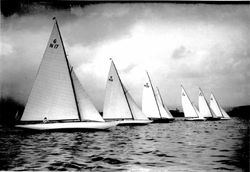 Race Start, Kings Series, August 1925