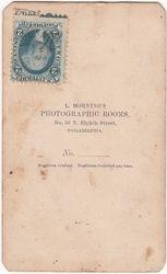 L. Horning, photographer of Philadelphia, PA - back