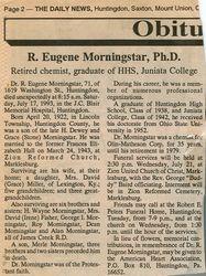 Morningstar, R. Eugene 1993