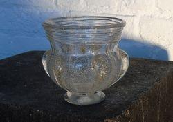 Vase bullé Daum