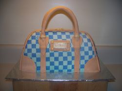 Louis Vuitton Hand bag Cake