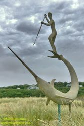 Swordfish Sculpture, Marta's Vineyard