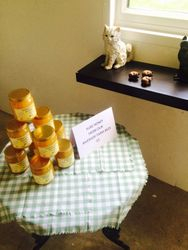 Our home made honey for sale