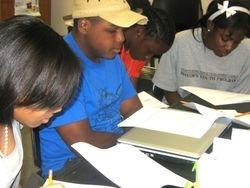 High School dramaturgy interns