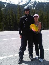 Ruth and her prince at leg 5