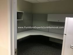 Junk office cubicle removal in rockville md