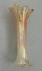 Whalebone vase, marigold
