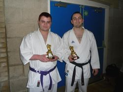Richy and Ash trophies