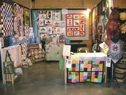 """Stitches in Bloom"" Quilt Show, Silverton, OR"
