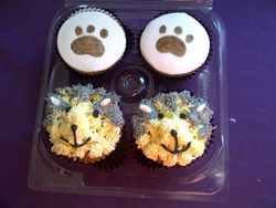 doggy cupcakes Gluten Free
