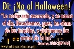 Di: No al halloween