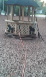 gazebo / kids sand box /green house