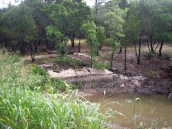 Rock Bottom creek & Pond