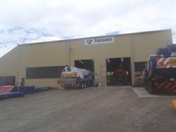 Tadano maintenance facility Brisbane