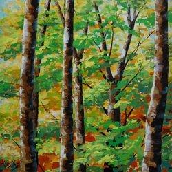 trees. 24 x 24.