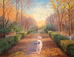 Autumn walk.