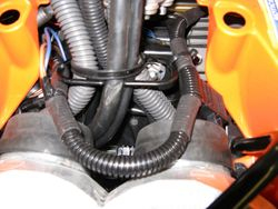 Main Roll-Over Valve harness routing