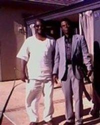 Rev. Samue K. Ackom  And  Friend