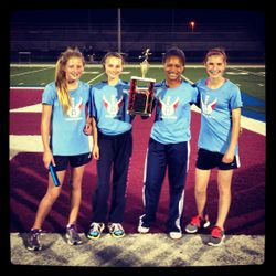 Girls 4x400 Myrhum Champs