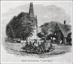 Steam Car. 1862.