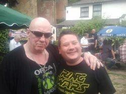 Skull Murphy and Ben Roberts