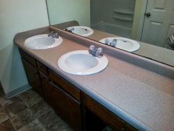 Double Vanity AFTER