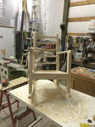 Glue-up nearing completion.