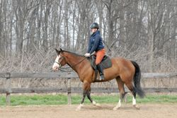 Invester granddaughter with a great jog