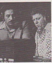 Steve Rickard and Ernie Leonard