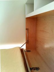 Changing Table - hinge close-up