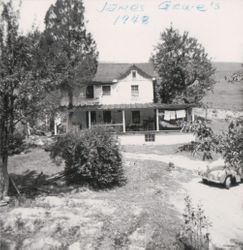 James Grove's Home in 1948