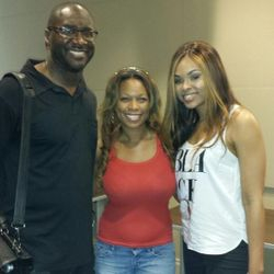 Roger Bobb & Demetria McKinney At 'Turner Tech's Film & Production Workshop' on October 19, 2013