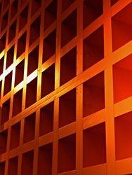 Geometric Orange