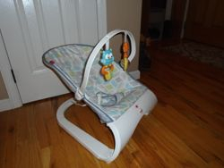 Fisher Price Comfort Curve Bouncer - $20