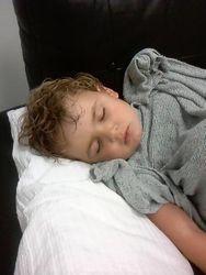sleeping through IVIG