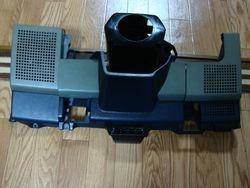 Blue/gray speaker panel set