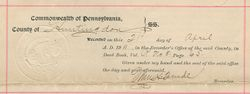Property Deed from Philip A. Norris to Jackson Fisher - Page 6