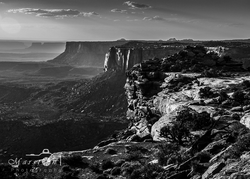 Canyonlands B&W