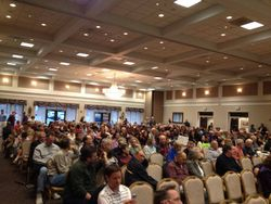500+ Supporters Filled the Ballroom