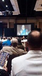 PNBC President Preaching