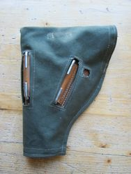 Rear view of a short holster for the Webley MK3 & 4's £20