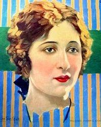 1920 MILDRED HARRIS CHAPLIN